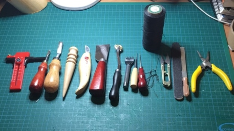 Basic Leather crafts tools
