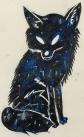 """ GALAXY FOX "" painted by my niece NAZAHAH KHAN"