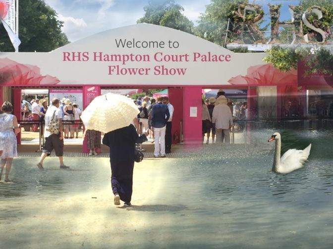 Hampton Court Flower Show year 2018
